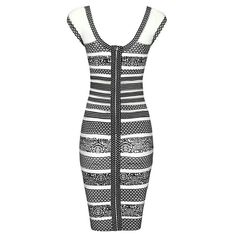 Black and white classic Fitted Dresses, Black And White, Classic, Fitness, Casual, Clothes, Ideas, Clothing, Sheath Dresses