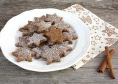 Škoricovo mandľové hviezdičky bez múky, Drobné pečivo, recept | Naničmama.sk