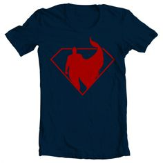 10 Valentine's Day Gifts for Him Under $50. Men's Superman Tee. http://blog.aftcra.com/blog/10-valentines-day-gifts-for-him-under-50/