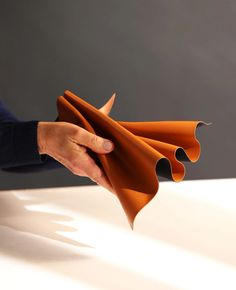 Leap is a vegan leather made from waste apple cores and skins Plastic Alternatives, Plastic Coating, Article Design, Different Textures, Layers Design, Natural Rubber, Food Design, Textile Design, Real Leather