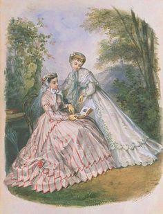 1866 - La Mode Illustrée