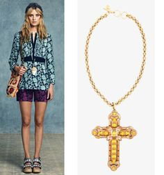 Jewellery Trends: Oversize Rules on the Cruise 2013 Catwalks/ Adorn London Jewelry Trends Blog | Adorn London
