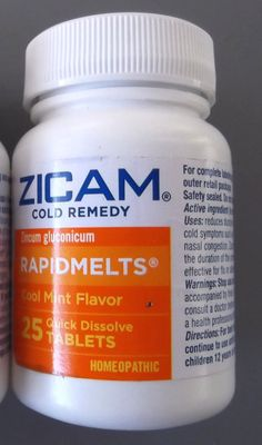 Zicam Cold Remedy RAPIDMELTS Cool Mint 25 Tablets New Sealed Homeopathic 05/15  #Zicam Kick that cold in the butt before it takes you down.#ebaydeals find this and more in eBay store ThenAndAgainTreasures