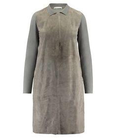 #FabianaFilippi  #LederStrickkleid  #Kragen  #kleid #leder #leather #dress #leatherdress #highquality #winter #fall #trends #fashion #highfashion #fashion2017 #trends2017 #LeonieExclusive