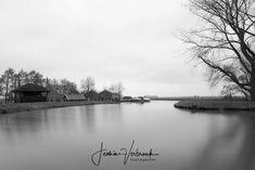 Black/White - Long exposure dutch view