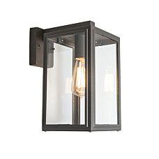 Outdoor Wall Lamp Sutton Dark Grey Down  - 91372