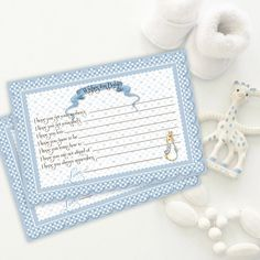 WISHES FOR BABY Peter Rabbit Blue Wishes for Baby Wish List