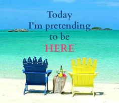Adirondack Beach Chairs – Beach Bliss Living: http://beachblissliving.com/adirondack-beach-chairs-a-summer-classic/ Today I'm pretending to be here.