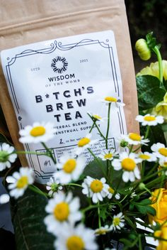 B*tch's Brew Tea: Herbal Blend for Menstrual Support – Wisdom of the Womb