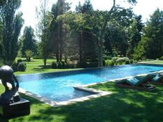 pool with grass surround