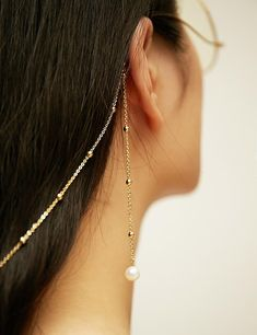 Gold Pearl Glasses Chain and Sunglass Strap- FREE Shipping- Eyewear Accessories/ Sunglass/ Reading Glasses/ Rope/ Strap/ Cord