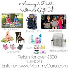 Mommy & Daddy Gift Set Givaway Ends Nov 9 2014
