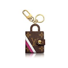 My Icon Picture Holder Bag Charm Key Holder (6,120 MXN) ❤ liked on Polyvore featuring accessories