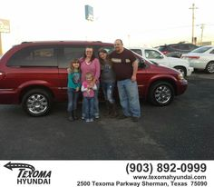 https://flic.kr/p/DBDsNU   Congratulations Keith/Amanda on your #Chrysler #Town & Country LWB from Mike Burdette at Texoma Hyundai!   deliverymaxx.com/DealerReviews.aspx?DealerCode=L967