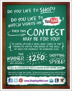 Check out how you can win $250 in Mall Gift Cards with this Back to School contest at The Mall at Hays!