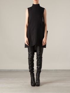 Rick Owens Loose Tunic Top