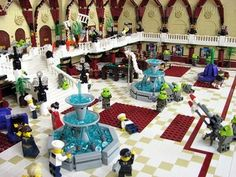 Yes, this is the big shoot out scene from The Fifth Element recreated with Legos.  Indeed.