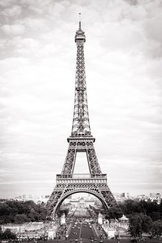 Eiffel Tower, Paris Fine Art Photograph, French Home Decor $30.00
