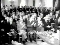 Signing of Civil Rights Act Newsreel