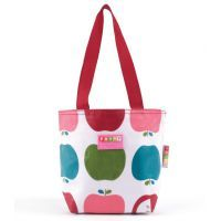 Penny Scallan Juicy Apple Mini Shopper Handbag - $14.95. Available at: http://www.mamadoo.com.au/kids-clothes/girls-clothes/girls-hats-and-accessories/ #girls #hats #accessories #hair #hairties #headbands