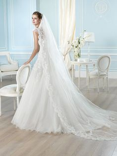 HALLAND / Wedding Dresses / Glamour 2014 Collection / San Patrick (back)