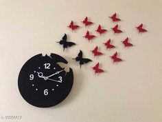 Clocks Trendy Acrylic Wall Clock Material: Plastic Pack: Pack of 1 Country of Origin: India Sizes Available: Free Size   Catalog Rating: ★4.1 (2055)  Catalog Name: Graceful Wall Clocks CatalogID_1798937 C127-SC1440 Code: 094-10056617-5511