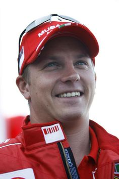 Kimi in the only happy place, the Scuderia.