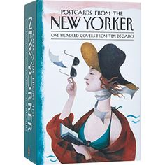 100 Postcards From The New Yorker Z New, Penguin Books, Tk Maxx, The New Yorker, Disney Characters, Fictional Characters, Cover, Postcards, Decor