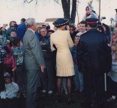 Princess Diana in Kingston