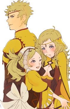 Fire Emblem: If/Fates - Ophelia, Odin and Lissa