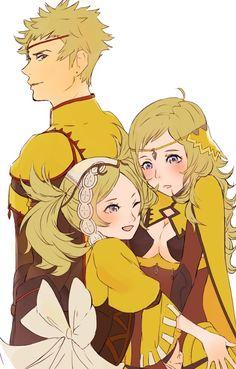 Fire Emblem: If/Fates - Ophelia, Odin and Lissa