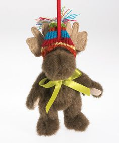 Another great find on #zulily! Moose Plush Figurine #zulilyfinds