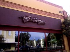 Tres Hombres is located on 1st and Broadway in downtown Chico.  Serving over 100 premium 100% agave tequilas.