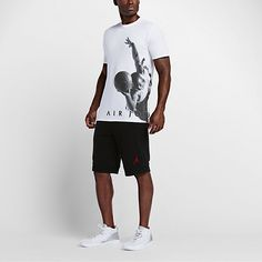 Jordan Flying Dreams Camiseta - Hombre Sporty Look, Shirt Men, T Shirt, Jordans, Nike, Mens Tops, Shopping, Clothes, Amp