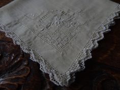 Vintage handkerchief by Tedsandtreasures on Etsy, £5.00