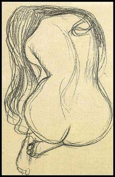 """ Gustav Klimt - Nu """