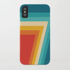 Colorful Retro Stripes - Abstract Design iPhone Case by pelaxy Cool Cases, You Are Awesome, Iphone Cases, Stripes, Cool Stuff, Retro, Abstract, Color, Artists
