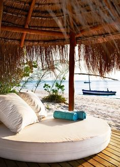Benguerra Island, Mozambique 30 warm places we would like to be at. Holiday Destinations, Vacation Destinations, Dream Vacations, Vacation Spots, Oh The Places You'll Go, Places To Travel, Bungalows, Mozambique Beaches, Beach Please