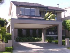 Carport Designs Carport designs This step by step woodworking project is about double carport plans Check out our carport designs and find the one that Carport Modern, Double Carport, Carport Garage, Double Garage, Carport Designs, Steel Carports, Flat Roof, Facade House, Best Interior Design