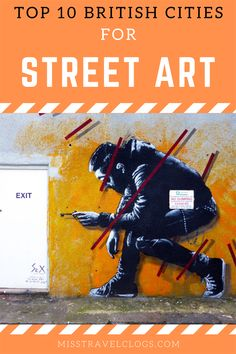 Discover the top 10 British cities to find the best street art in the UK! Of course it includes the famous street art cities London and Bristol, but what about Aberdeen in Scotland, home to an amazing street art festival and also Cardiff in Wales for example? Find the top UK street art hotspots in this post! #streetart #streetartuk #streetartuklondon #streetartukbristol #streetartukcheltenham #streetartukcardiff #streetartukglasgow #streetartukmanchester #streetartukbelfast Travel Around Europe, Europe Travel Tips, Travel Advice, Best Street Art, Amazing Street Art, Pete Mckee, Cities, Art Uk, Aberdeen