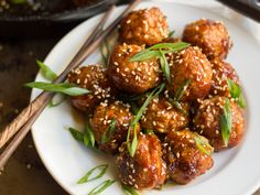 These tempeh meatballs are coated in a sweet and savory teriyaki glaze. Serve them with rice for a hearty vegan main, or as a scrumptious party appetizer!