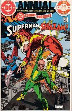 Comics presents Annual (Super-powered Doctor Sivana vs. Superman of Earth-one, Superman of Earth-Two, and Captain Marvel… all drawn by Gil Kane! Pretty awesome.)
