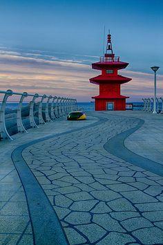 Faro en Corea del Sur #faros #lighthouses #architecture