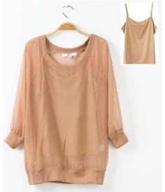 Two in One spring New 2014 chiffon blouses Shirts For Women, Brand Plus Size Loose blouse women work wear S-L $16.99