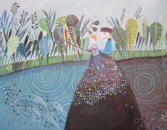 Aurelia Fronty. Botanical Drawings, Botanical Prints, Album Jeunesse, Visual And Performing Arts, Children's Book Illustration, Illustrations Posters, Book Art, Design Art, Art Drawings