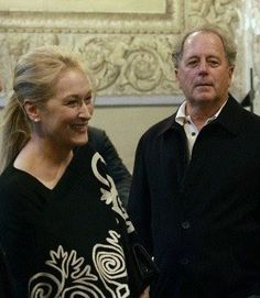 Meryl Streep with Don Gummer aka SWEETEST COUPLE EVER!