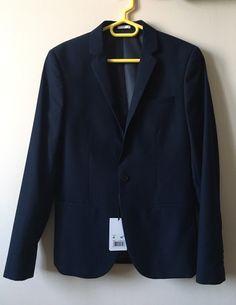 ed047729ecc7c Costume avec veste et pantalon JULES Bleu marine Taille S Jamais porté