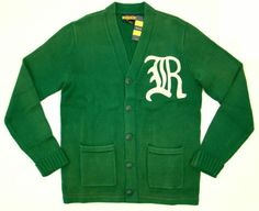 a37bfa51ab8 Details about Nwt Rugby Ralph Lauren Green Knit Cotton