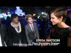 One Direction AND Emma Watson!!! My life is complete! Their reactions after meeting Emma Watson = priceless! :D