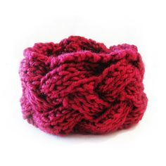 Cable cuff knitted cable cuff warm cuff by ShuvalAccessories Handmade Shop, Handmade Items, Handmade Gifts, Go Shopping, Cable Knit, Fashion Accessories, Burgundy, Christmas Gifts, Etsy Shop